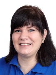 Sandra Rissler, Mitarbeiterin Verwaltung und Abrechnung im Zahnzentrum Fiedler