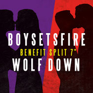 "Boysetsfire / Wolf Down: LGBTI*Q-REFUGEE Benefiz-Picture 7"" Single"