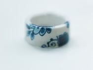 ring porselein delftsblauw