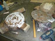 I took the head part apart to examine!