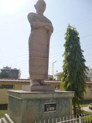 Buddha Gaya's Purna statue