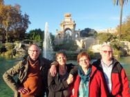 Im Ciutadella Park in Barcelona. Reiseführer Bewertung.