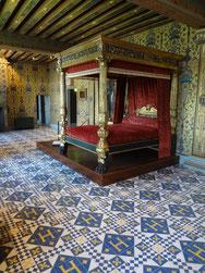 Lit d'Henri III à Blois. Source 2016. Laure Trannoy.