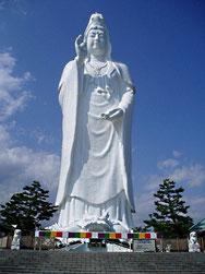 Die Große Kannon in Sendai