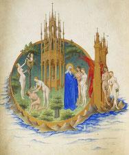 Paradies der Très Riches Heures des Duc de Berry