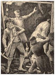 Christoph Seydel entdeckt 1716 die Heilquellen, Radeberger Bad, Augustusbrunnen, Augustusbad,
