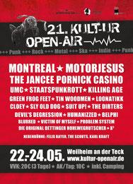 K.O.A. - Kultur Open Air, Weilheim / Teck