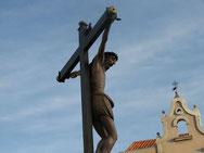 """""""Cristo Crucificado"""". Foto cedida por hermano de la cofradía."""