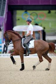 Patrick Kittel à cheval