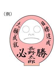 選挙 だるま