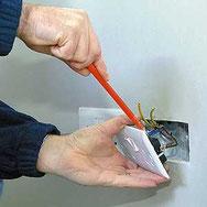 Reparación electricidad