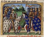 Le duc de Bretagne François 1er et le Connétable Arthur III de Richemont