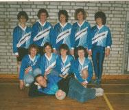 Mit neuem Outfit 1991
