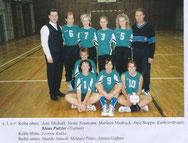 Der Sponsor mit der Mannschaft 2002