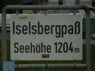 Auf dem Iselsbergpaß