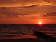 Am schönsten bei Sonnenuntergang...