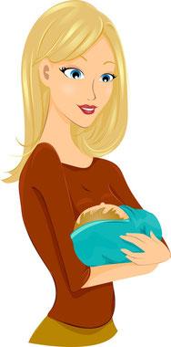 Mutter Inkontinenz nach Schwangerschaft