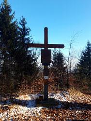 Ödberg Gipfelkreuz im Hausruck
