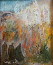 Transfiguration du peintre finlandais Stig Petrone
