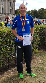 Stefan Sauer - Finisher beim Berlin Marathon
