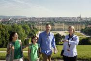 Peter y su equipo de guias © Österreich Werbung