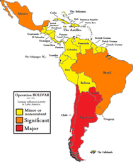 "Operation ""Bolivar""  1940-45."