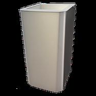 Abfallbehälter Platinum, fingerprint-free