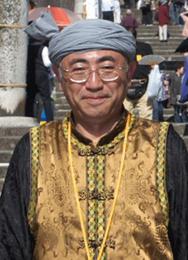 諏訪町龍踊保存会総監督 山下寛一さん
