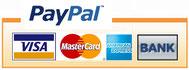 Kreditkartenzahlung Visa  Mastercard