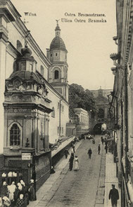 Aušros vartų gatvė / The Gate of Dawn street