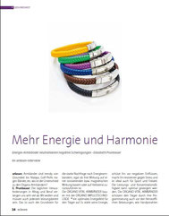 Interview  www.energiearmband.at, E. Prunbauer