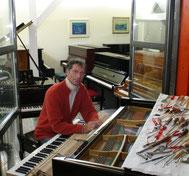 Moritz Benecke, Klaviere, Ahrensburger Klaviergalerie