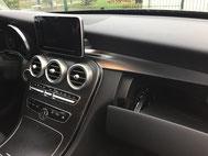 Fahrtenbuch für Mercedes-Benzim Handschuhfach im W205