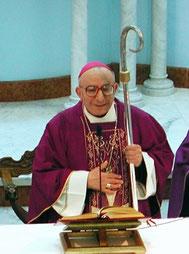 Il vescovo mons. Eduardo Davino