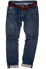 DSIDE PRODUCTS RAW SELVAGE JEANS WORN 150 DAYS
