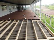 Terrasse mit Megawood