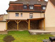 Terrassenüberdachung mit Dachpappe