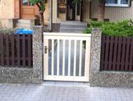 Gartentür aus Kiefer