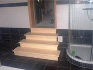 Treppe aus Ahorn