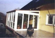Wintergarten mit Dachglas