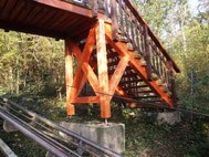 Brücke aus Dougalsie