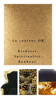 Couleur or