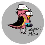 Firmenlogo Buntspecht Media, Adrian Luda