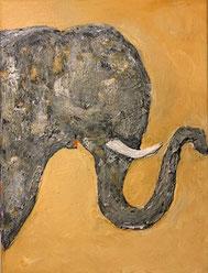 Bild Elefant Mechthilde Gairing