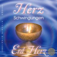 CD Titelbild Herzschwingungen Erd Herz von Sayama Music Richard Hiebinger. https://www.sayama-music.de/cds/herzschwingungen-erd-herz/