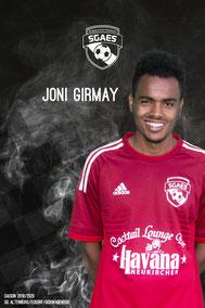 Girmay, Joni
