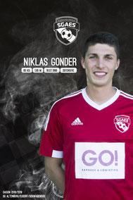 Gonder, Niklas