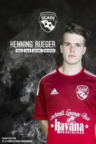 Rueger, Henning