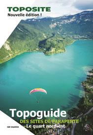 Topo guide des sites de parapentes du quart nord-est de la France