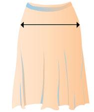 Damenrock in Übergröße , große Auswahl an Röcken in großen Größen